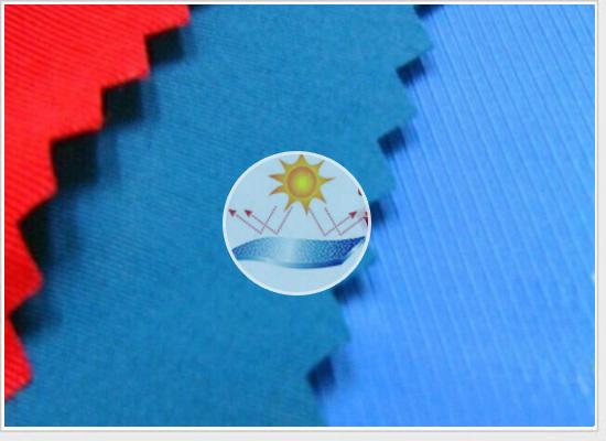 涤纶防紫外线面料_防紫外线面料